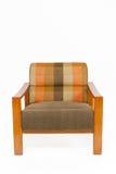 木扶手椅子五颜六色的室内装潢 免版税库存照片
