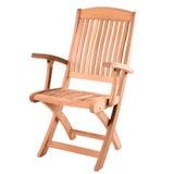 木扶手椅子 免版税库存照片