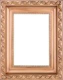 木抽象背景褐色框架的空间 图库摄影