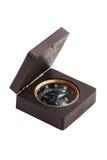 木指南针老的鞘 免版税库存照片