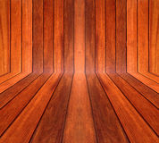 木挡水板, detailมNatural木墙壁 免版税库存图片