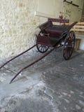 木推车、陷井或者支架 库存照片