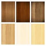 木收集的面板 免版税库存图片