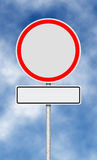木改道框架指针红色丝带概略的符号的业务量 免版税图库摄影