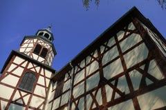 木教会在亚沃尔4 免版税库存照片