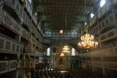 木教会在亚沃尔4 免版税图库摄影