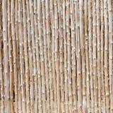 木日志和被削减的竹背景 免版税库存图片