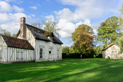 木木屋在法国 免版税库存图片