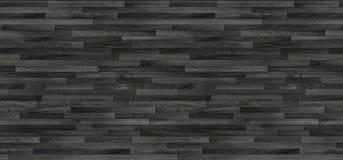黑木木条地板纹理 背景老面板 免版税图库摄影
