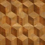 木木条地板阻拦红木 库存照片