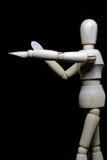 木机器人 免版税图库摄影