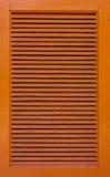 木机柜的视窗 免版税库存图片