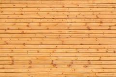 木杉木板条黄色纹理 库存照片