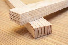 木杉木的板条 图库摄影