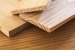 木杉木的板条 库存照片