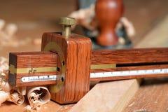 木材划片 库存照片