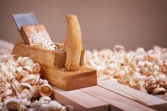 木材加工手工具 库存照片