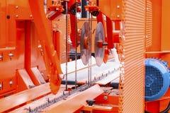 木材加工机器 库存照片