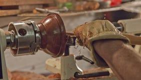 木材加工高速 免版税库存图片