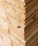 木材市场 图库摄影