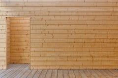 木材料 墙壁和楼层 自然资源建筑ar 图库摄影