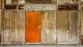 木材木墙壁背景 库存照片