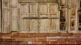 木材木墙壁背景 图库摄影