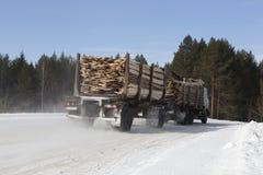 木材的提取 库存图片
