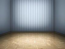木条地板空间 免版税库存照片