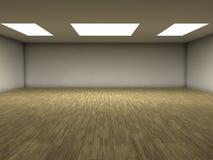 木条地板空间 库存照片