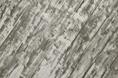 木条地板纹理白色木头 皇族释放例证
