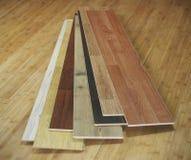 木条地板纹理 免版税库存照片