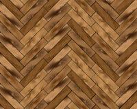木条地板背景 向量例证