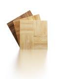 木条地板范例 向量例证