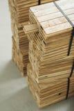 木条地板部分木头 免版税库存图片