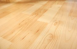 木条地板 库存图片
