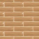 木板条板传染媒介无缝的样式 皇族释放例证