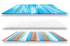 木板条架子和白色背景 对产品显示, C 库存图片