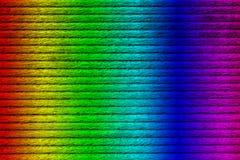 木板条纹理,光谱绘了,特写镜头 库存照片