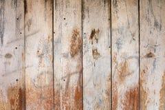 木板条背景板设计和装饰 免版税库存图片