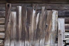 木板条背景纹理 免版税库存图片