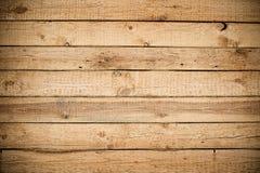 木板条褐色纹理背景 图库摄影