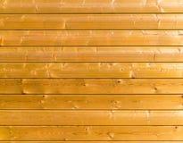 木板条黄色纹理 库存图片