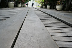 木板步行 图库摄影