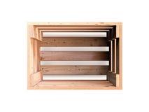 木板箱 免版税图库摄影