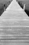 木板走道展望期 图库摄影
