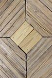 木板走道装饰 图库摄影