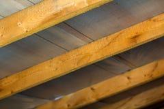 木板,屋顶的建筑的元素 图库摄影