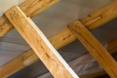 木板,屋顶的建筑的元素 库存图片
