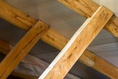 木板,屋顶的建筑的元素 免版税库存图片